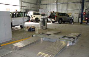 BM3010 mobil bremseprøvestand med affjedringstester